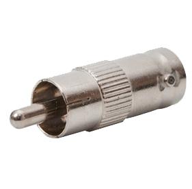 Phono Male ~ BNC Socket Adaptor