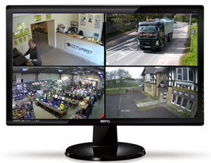 24 Full Hd 1080p Hdmi Vga Monitor Cctv