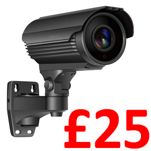 Longse 1080P 2.8-12mm Lens Bullet 40m IR, Supports TVI, AHD, CVI and Analogue Outputs. Grey