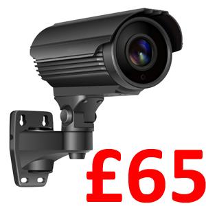 Sony Starvis 1080P Motorised Lens 40m IR Bullet Grey. TVI, AHD, CVI and Analogue Output