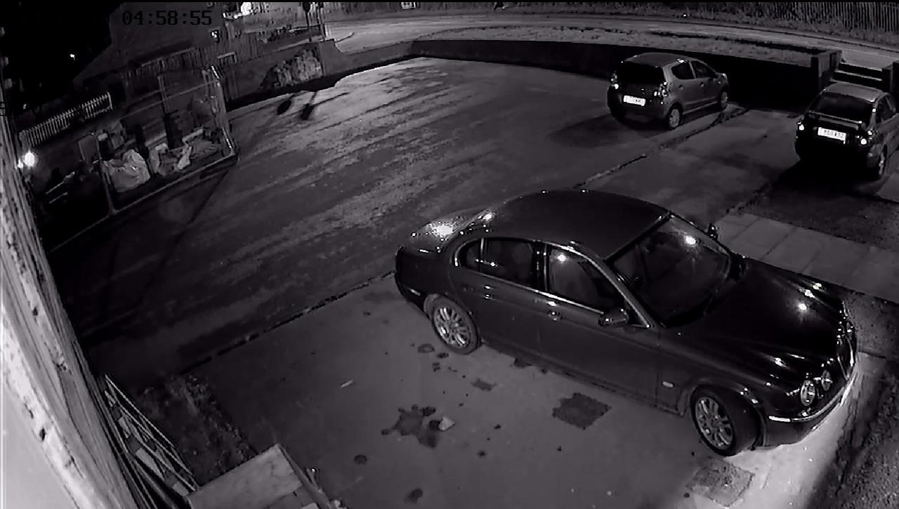 AHD CCTV Camera night time