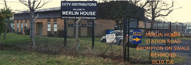 Merlin House CCTV Sales and Distribution