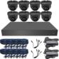 Sony Starlight 2MP 3.6mm Fixed Ball Dome 8 Camera System