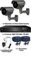 2 x Smart IR Full HD 1080P Grey 2.8-12mm Lens Bullet & TYT Pro Series DVR System