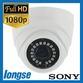 Longse TVI 1080P 3.6mm Mini 20m IR Plastic Ball Dome,