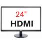 24 Full HD 1080P HDMI/VGA Monitor