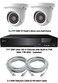 TYT IP Analytic 4MP Fixed 2.8mm Lens 2 Camera System with Built-In PoE