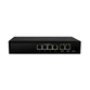 Black Box 4 Port 10/100/100Mbps Switch with 2 x Uplinks