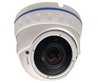Black Box 4.0MP IP IR Ball Dome With V/F 2.8-12.0mm Lens & PoE H265 Compression in White