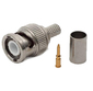 BNC Crimp for RG59 coax & RG59 coax with power cable