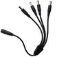 4 way DC plug output adaptor