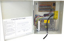 10amp 12v Metal Boxed  Power Supply - 9 OUTPUTS
