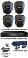Complete TYT TVI Full HD 1080P 4 Mini IR Ball Dome Sony Starvis System