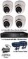 TYT TVI Full HD 1080P 4 Camera 3.6mm Mini Ball Dome Sony Starvis System
