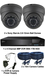 Complete TYT TVI Full HD 1080P 2 Camera 2.8-12.0mm Ball Dome Sony Starvis System
