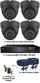 Complete TYT TVI Full HD 1080P 4 Camera Sony Starvis System