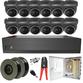 Sony Starlight Motorised 2.7-13.5mm Ball Dome 12 Camera System.