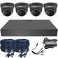 Sony Starlight Motorised 2.7-13.5mm Ball Dome 4 Camera System.