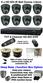 Complete TYT HD-SDI Full HD 1920 x 1080 8 Camera System