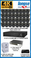 Complete Ultra HD IP 4.0MP (2560 x 1440) 32 Camera POE System