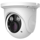 Analytic 4MP IP PoE Motorised 3.3-12mm Ball Dome in White. H.265 Compression