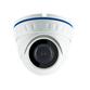 Black Box 1080P 3.6mm Mini 20m IR Ball Dome, Supports TVI, AHD, CVI and Analogue Outputs. White