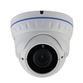 Smart IR 4.0MP IP IR Ball Dome With V/F 2.8-12.0mm Lens & PoE H265 Compression in White