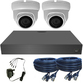 Sony 3.6mm Mini 2MP Ball Dome 2 or 3 Camera System. Camera Colour & Style Options