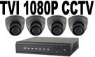 TVI 1080P CCTV Systems
