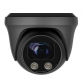 White Light Fixed 2.8mm Lens 5MP Ball Dome Grey