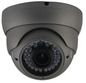 SONY 3.0MP IP 2.8-12mm 30M IR Ball Dome With POE. Grey