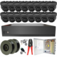 5MP Analytic Series 3.6mm Fixed Ball Dome 16 Camera System