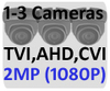 Black Box Ultra HD IP 4.0MP 2 or 3 Camera POE System H265 Compression