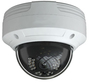 TYT Analytic 4K IP PoE Motorised 3.3-12mm Ball Dome in White. H.265 Compression