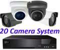 Sony Starlight 3.6m Mini 1080P Ball Dome 20 Camera System. Several Camera Options.