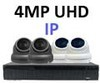 IP Analytic 4MP Motorised 3.3-12.0mm Lens 12 Camera System with Built-In PoE