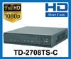 TYT HD 1080P 8 Channel Hybrid DVR. Supports TVI, AHD,IP & Analogue