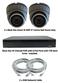 Complete Ultra HD IP 4.0MP Black Box 2 Camera POE Mini Grey Dome System