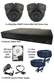 2 x Smart IR Grey 3.6mm Lens 1080P Dome Camera & TYT DVR Kit