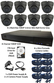 8 x Smart IR Full HD 1080P Grey 3.6mm Lens Dome & TYT Pro Series DVR System