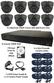 8 x Smart IR Full HD Grey 3.6mm Lens 1080P Ball Dome Camera & TYT Pro Series DVR System