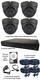 4 x Smart IR Full HD Grey 3.6mm Lens 1080P Dome Camera & TYT  DVR Kit