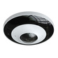 6MP 360° Panoramic Fisheye Lens in White. H.265 Compression