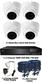 Christmas Special 4 X Smart IR Plastic TVI Mini IR Dome Camera & TYT 1080P DVR kit